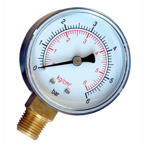 Manometro accesorios para grupos de presi n manometros for Manometro para medir presion de agua