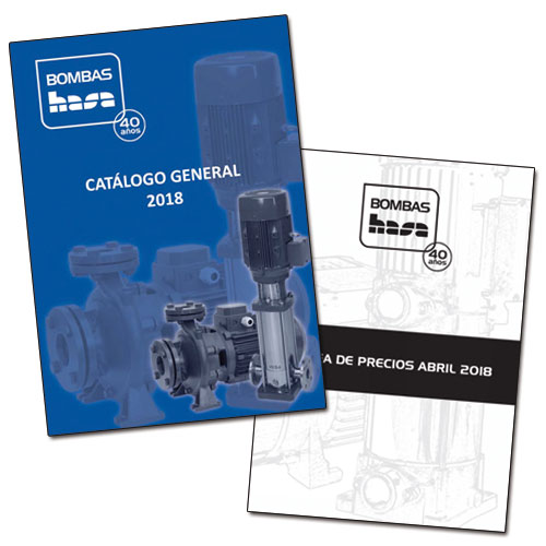bombas hasa'40 YEARS GENERAL CATALOG AND PRICE LIST 2018 - News